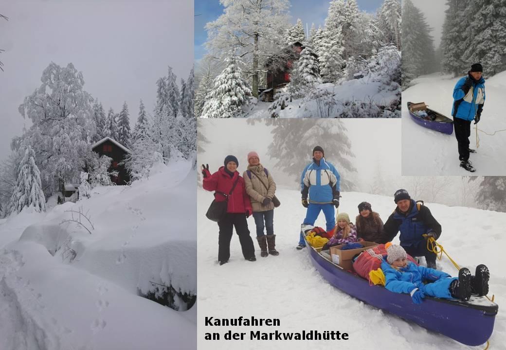 Markwaldhütte Kanu